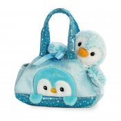 Fancy Pal Peek-a-Boo Penguin Blue