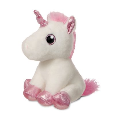 Sparkle Tales Lolly Unicorn 18 cm White (4-pack)