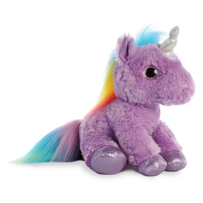 Sparkle Tales Electra Purple Unicorn 30 cm (4-pack)