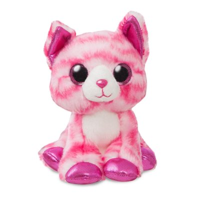 Sparkle Tales Crystal Pink Cat 18 cm (4-pack)