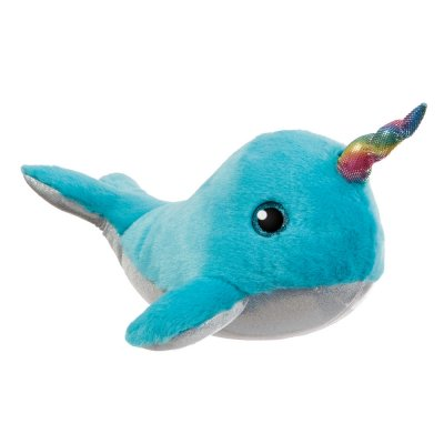 Sparkle Tales Arctic Narwhal Aqua 30 cm (4-pack)