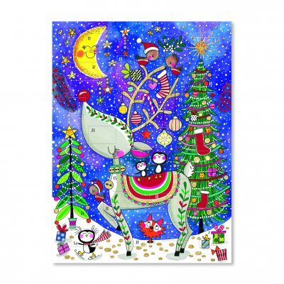 Adventskalender - Reindeer & Moon (6-pack)