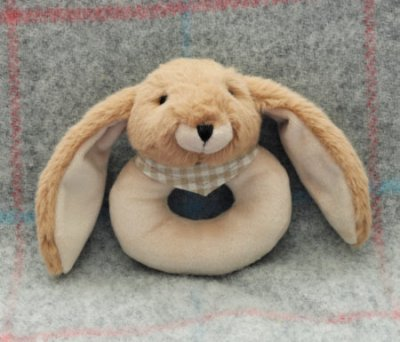 Bunny Rattle Brown
