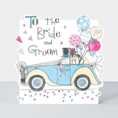 Bride and Groom Car (6-pack)