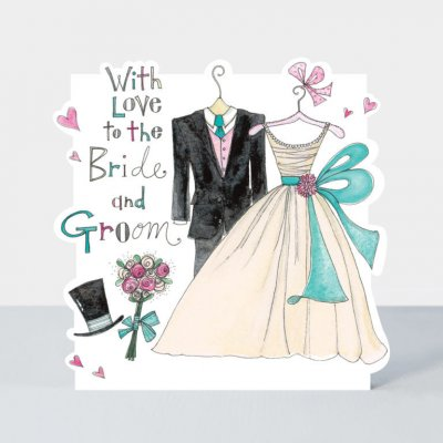 Bride and Groom Wedding Outfits (6-pack)