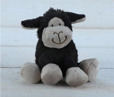 Jomanda Mini Black Sitting Sheep (3-pack)