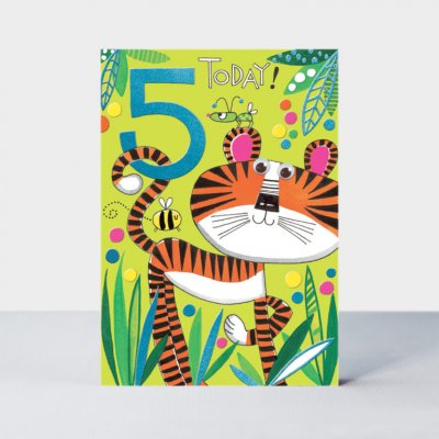 Age 5/Tiger (6-pack)