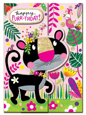 Happy Purr-thday - Panther